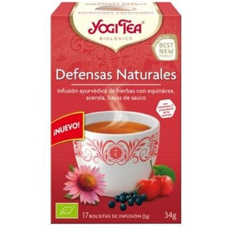 Infusión Defensas Naturales Bio 34g (17tb)