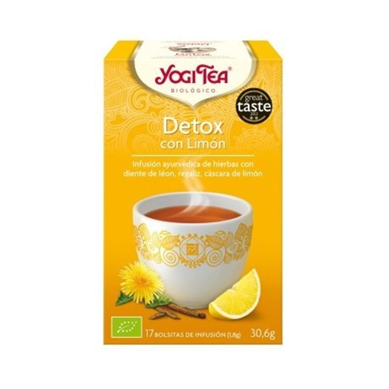 Infusion Desintoxicacion Limon, 1 ud