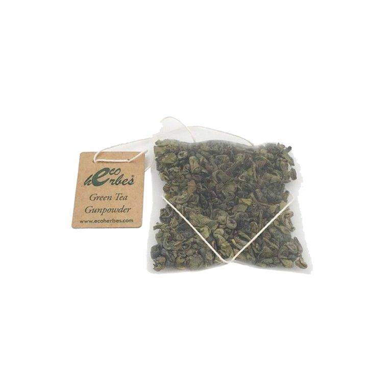 Infusión ECO de Green Tea Gunpowder seco Ecoherbes (10 Uds)