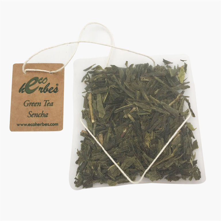 Infusión ECO de Green Tea Sencha seco Ecoherbes (10 Uds)