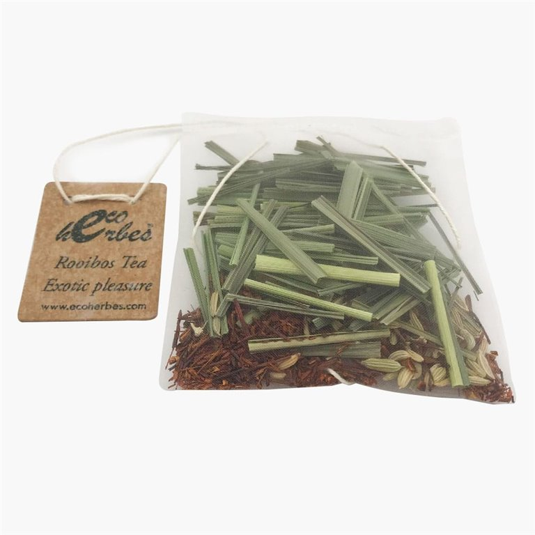 Infusión ECO de Rooibos Tea Exotic Pleasure seca Ecoherbes (10 Uds)