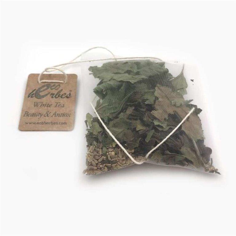 Infusión ECO de White Tea Beauty&Antiox seco Ecoherbes (10 Uds)