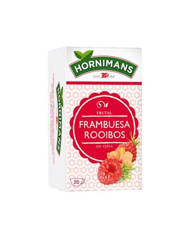 Hormimans - Infusión de frambuesa rooibos
