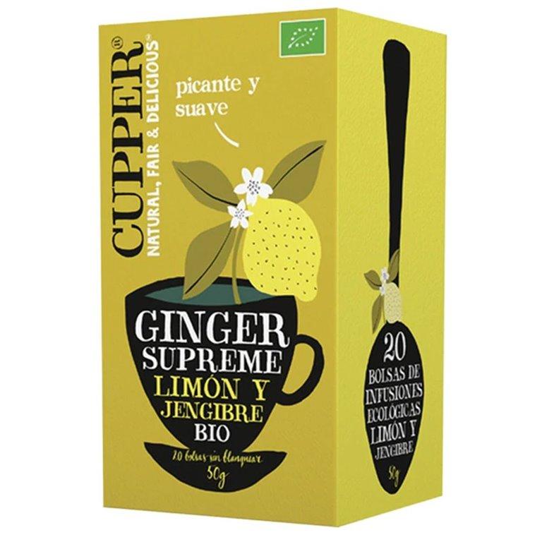Infusión Ginger Supreme Bio 50g (20tb)