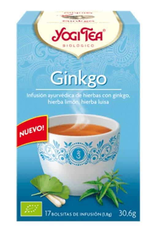 Infusión Gingko, 30 gr