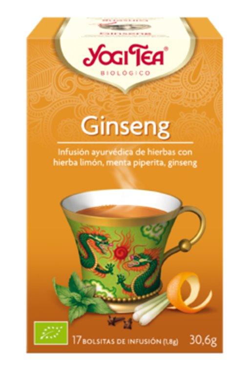 Infusión Ginseng Bio 30,6g (17tb), 1 ud