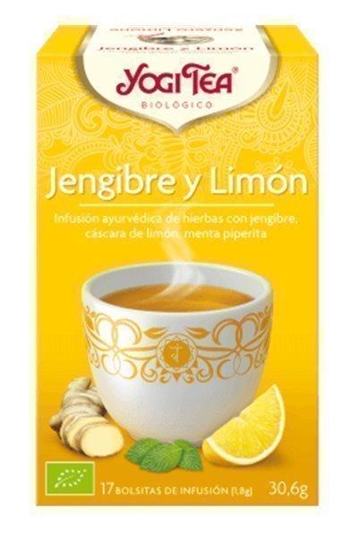 Infusión jengibre y limón