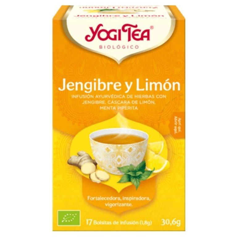 Infusión Jengibre y Limón Bio 30,6g (17tb), 1 ud