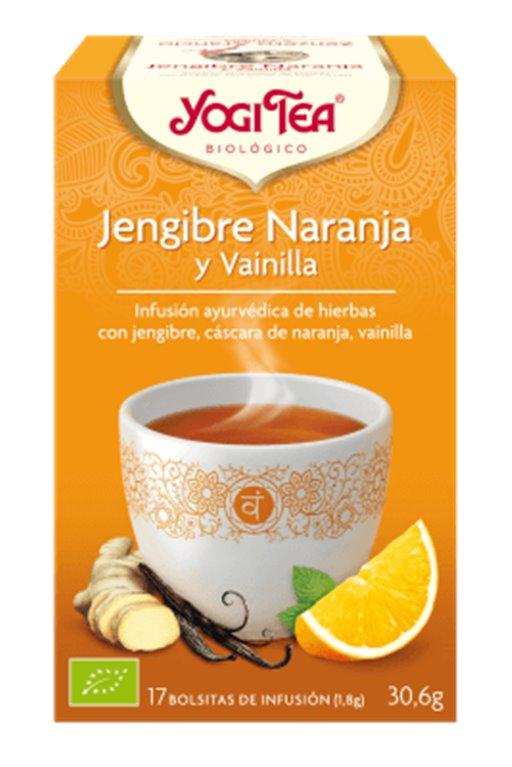 Infusión jengibre y naranja, 30 gr