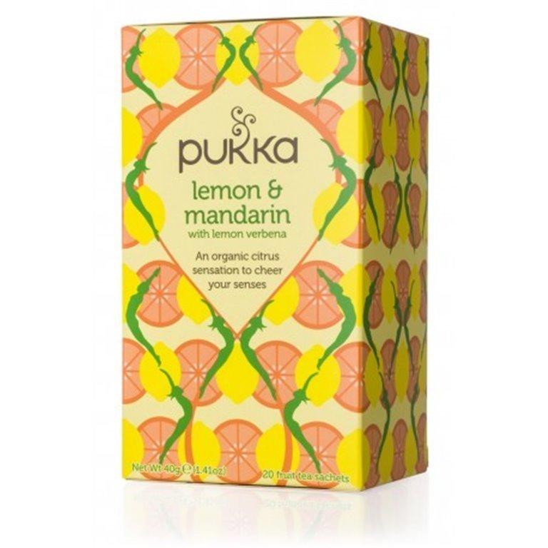 Infusion Limon Mandarina Con Limon Verbena, 1 ud