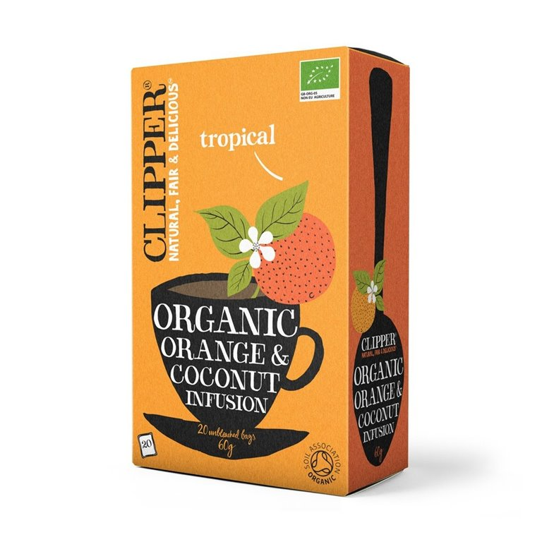 Infusión Naranja Coco Bio 40g (20tb)