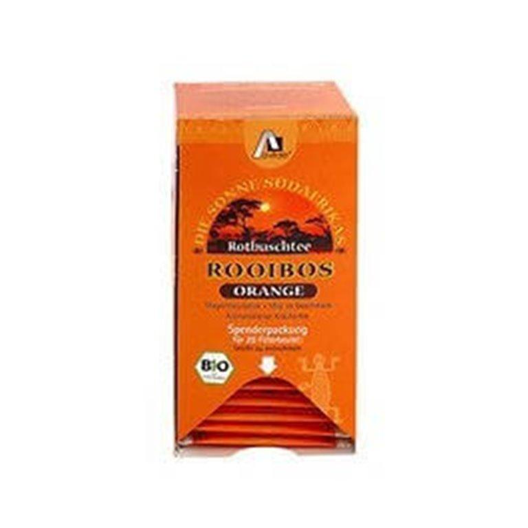 Infusión Rooibos con naranja, 30 gr