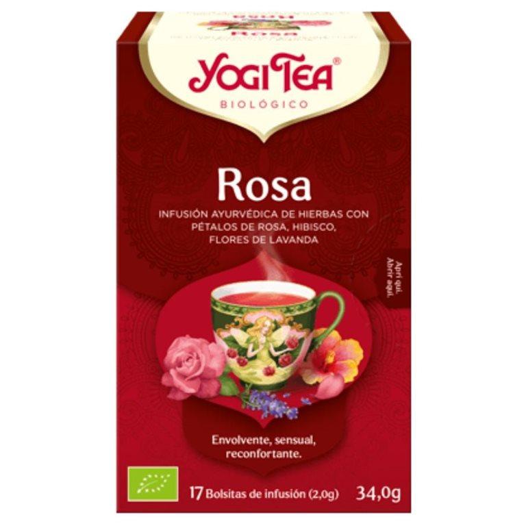 Infusión Rosa Bio 30,6g (17tb), 1 ud