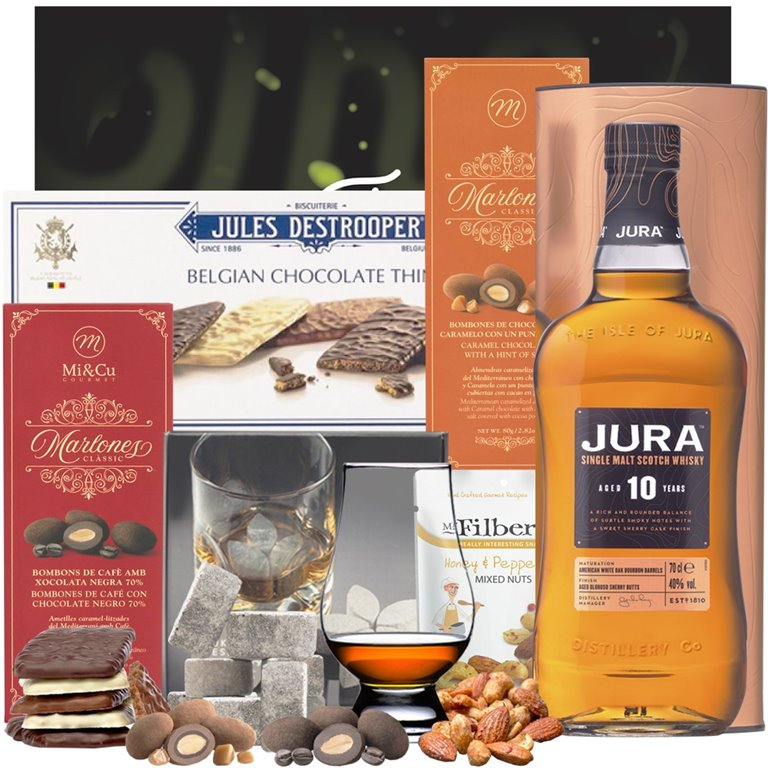 Isle of Jura 10 Años Gift Pack