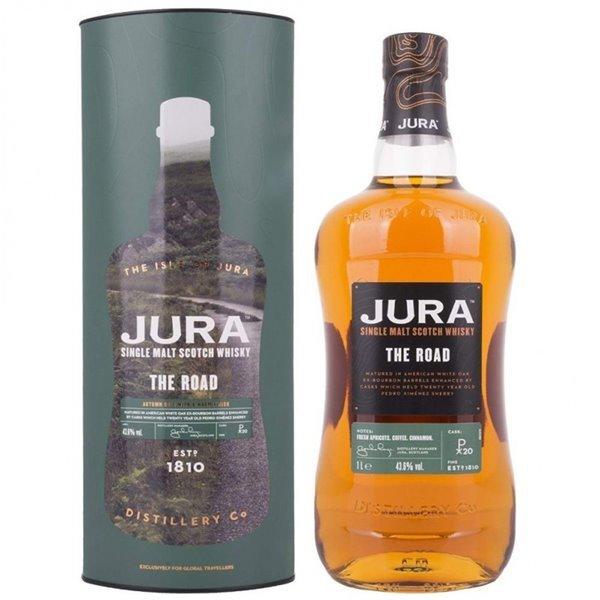 ISLE OF JURA THE ROAD 1L. + ESTUCHE