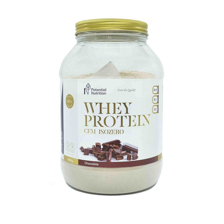 Isolado Proteina Whey Premium 90% – Sabor Chocolate – 1kg
