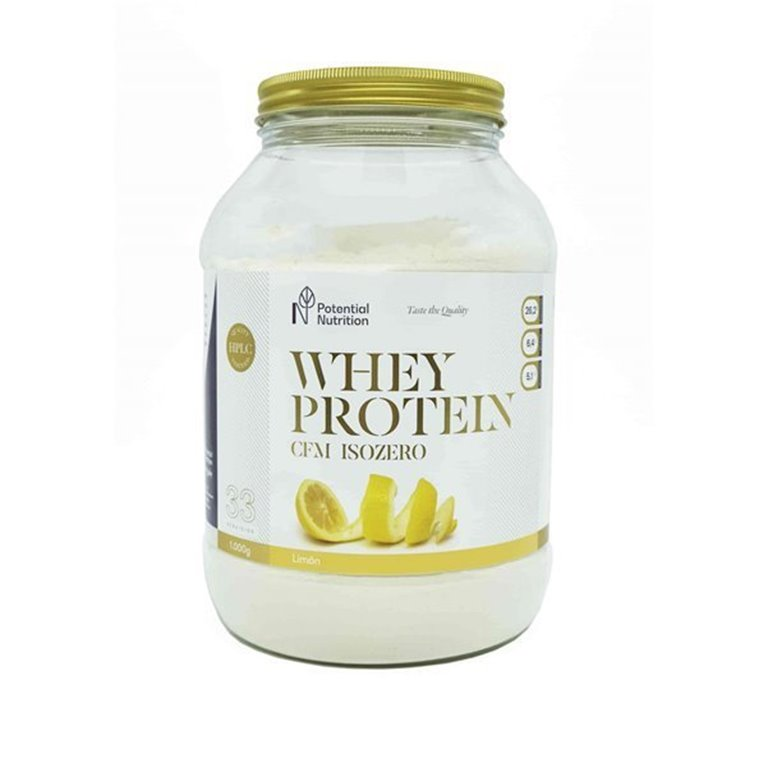 Isolado Proteina Whey Premium 90% – Sabor Limón – 1kg