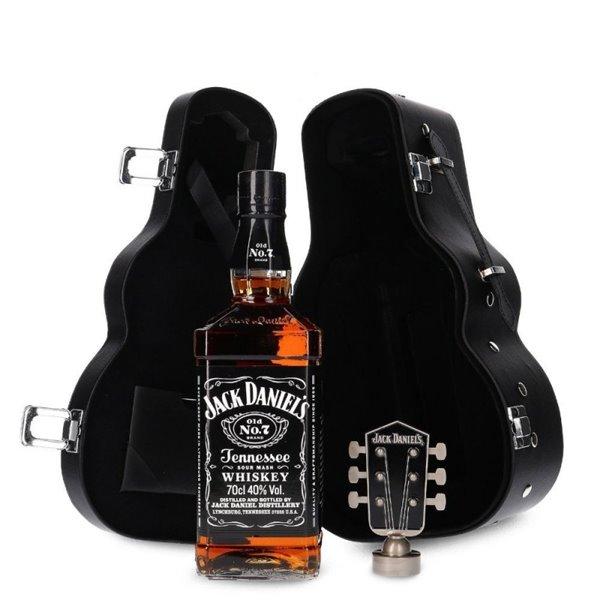 JACK DANIELS +  ESTUCHE GUITAR 0,70 LITROS 40º