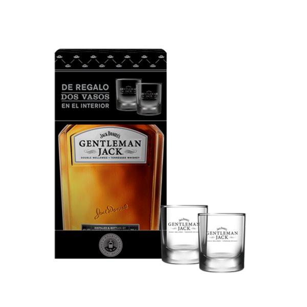 Jack Daniel´s Gentleman Jack  + 2 Vasos