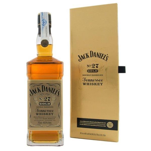 JACK DANIELS GOLD 27 0,70 L. + ESTUCHE