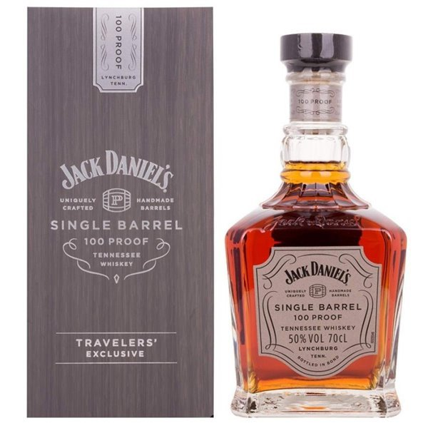 JACK DANIELS SINGLE BARREL 100 PROOF 0,70 L. 50º