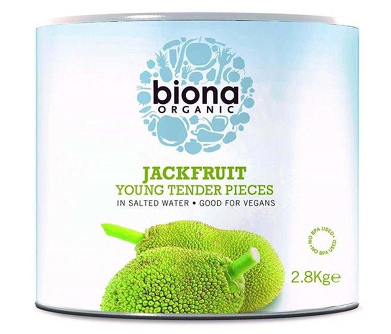 Jackfruit BIO en Agua Salada 2,8 Kg - Biona