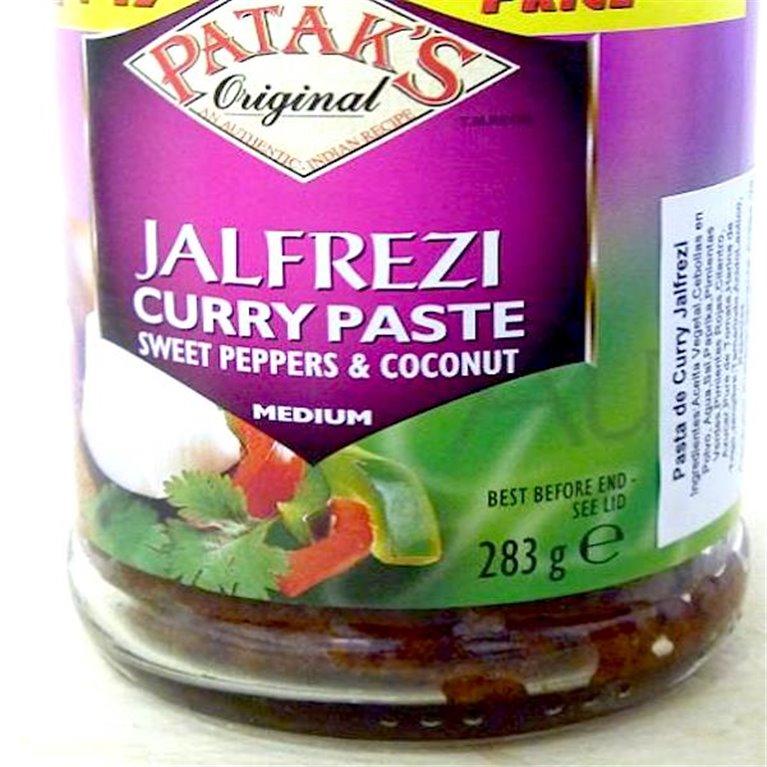 Jalfrezi pasta de curry Patak's