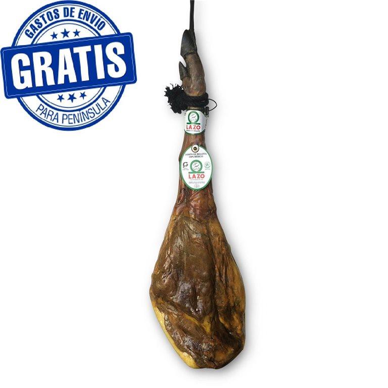 100% iberian acorn-fed. Lazo.