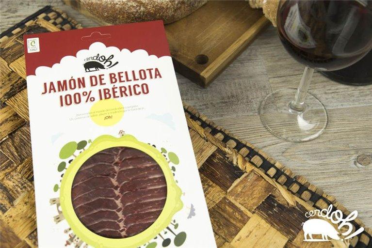 Jamón de Bellota 100% Ibérico (100 g)