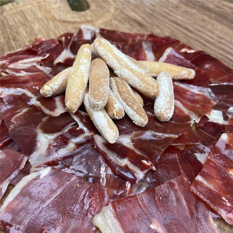 100% Iberian acorn-fed ham