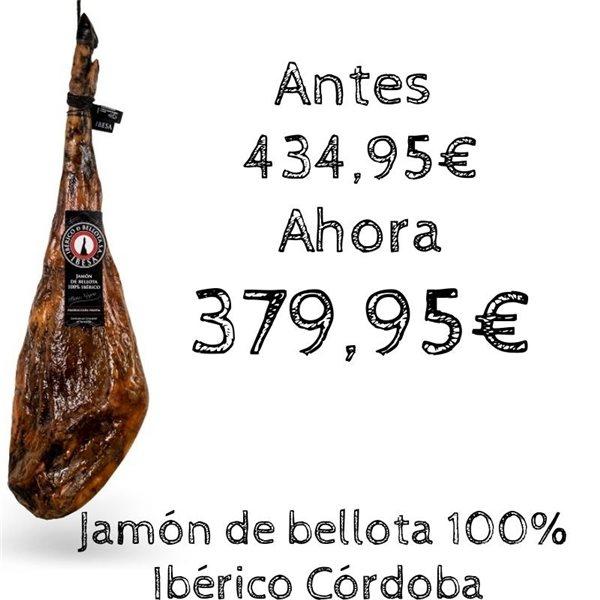 Jamón de bellota 100% Ibérico Córdoba