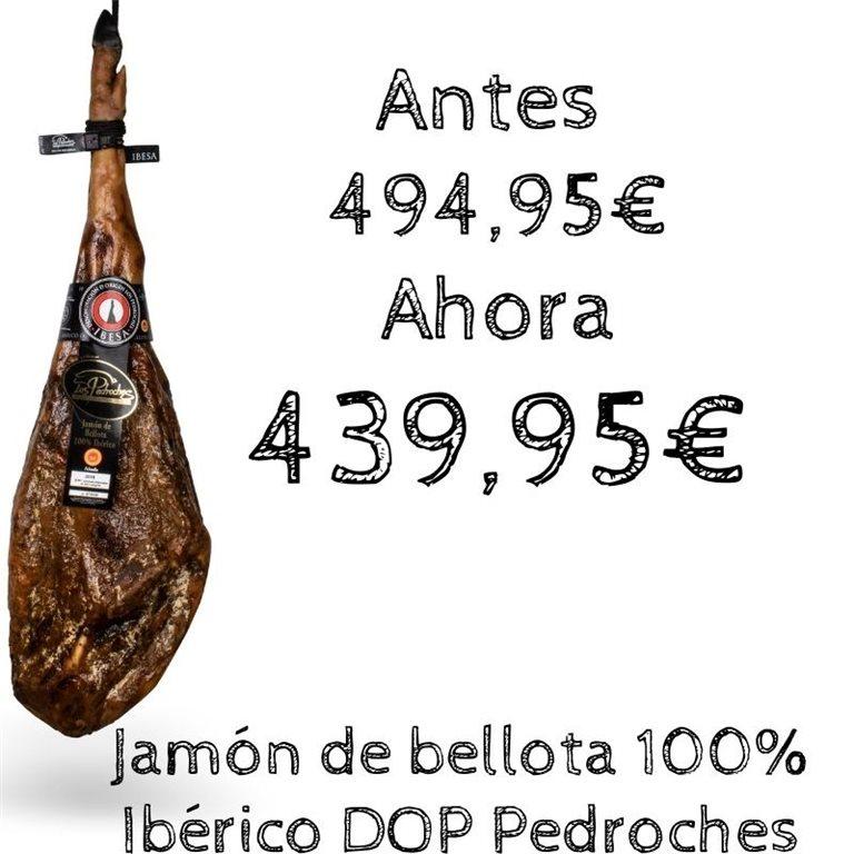 Jamón de bellota 100% Ibérico D.O Los Pedroches