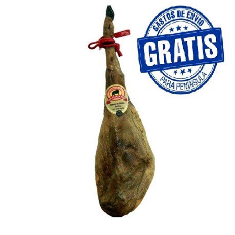 Jamón de bellota 50% - 75% ibérico.  Señorío de Los Pedroches.