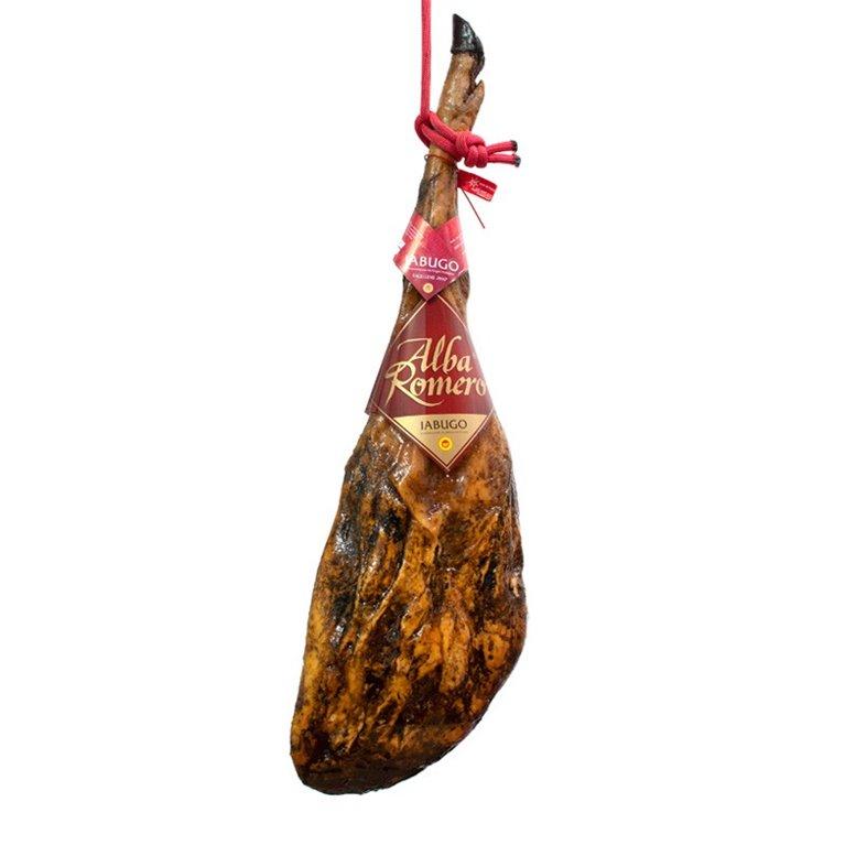 Jamón de bellota Ibérico 75% raza Ibérica D.O Jabugo Excellens A. Romero