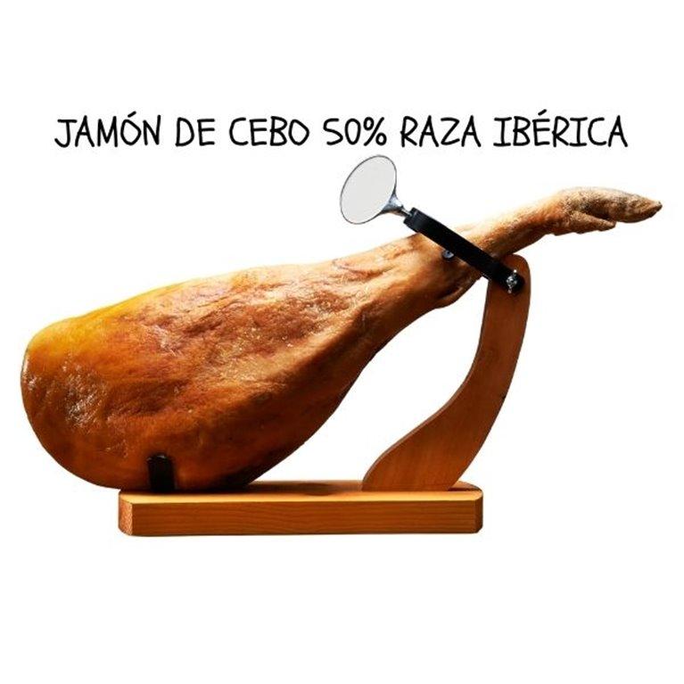 Jamón de cebo ibérico de bellota 50%  - 9 Kg aprox