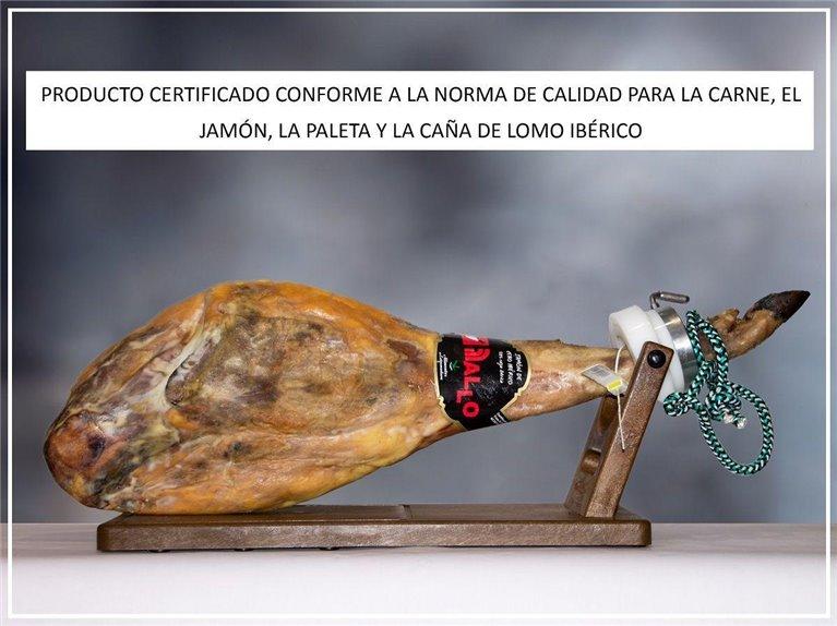 Jamón De Cebo Ibérico, 8,50 kg