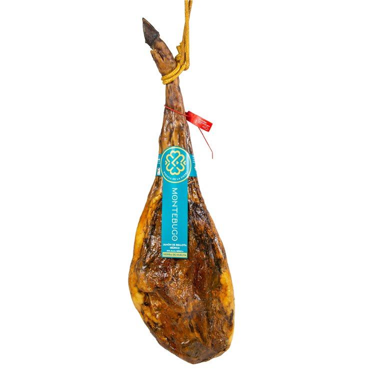 Acorn-fed Iberian Ham 75% Iberian Breed MONTEBUGO