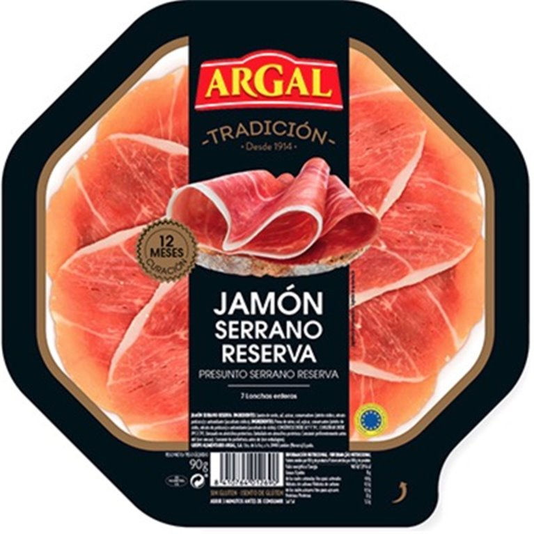 Jamón serrano Argal