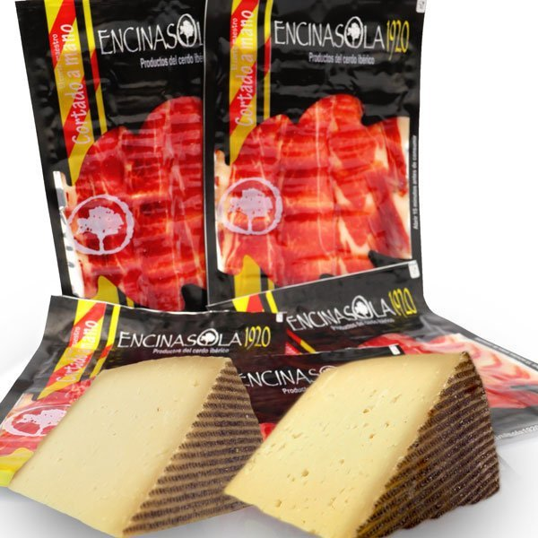 Jamón y quesos (4 de jamón, 2 queso)