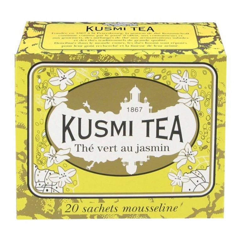 Jasmine green tea 20 Muslins. Kusmi Tea. 12un., 1 ud