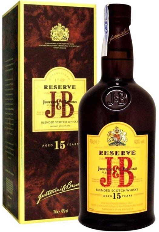 J&B 15 Years Reserve