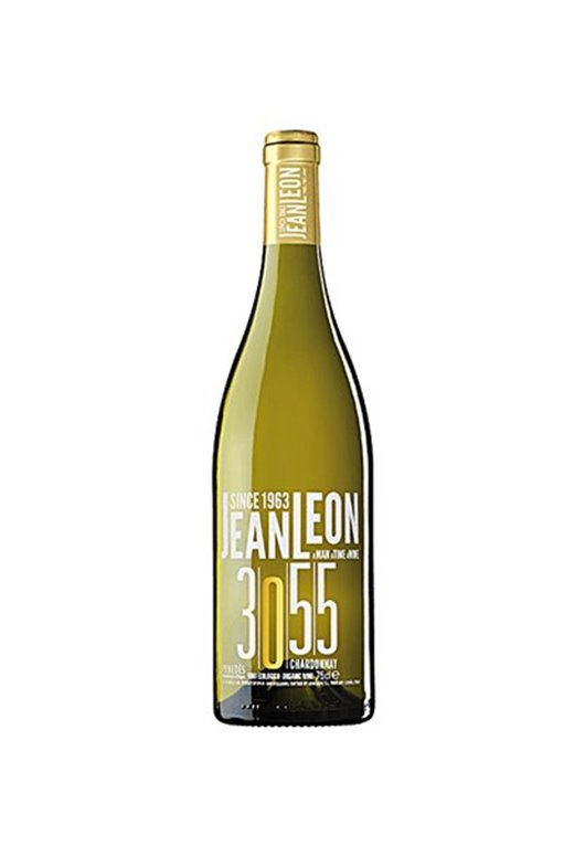 JEAN LEON 3055 - Chardonnay Ecológico - Cosecha 2016, 0,75 l