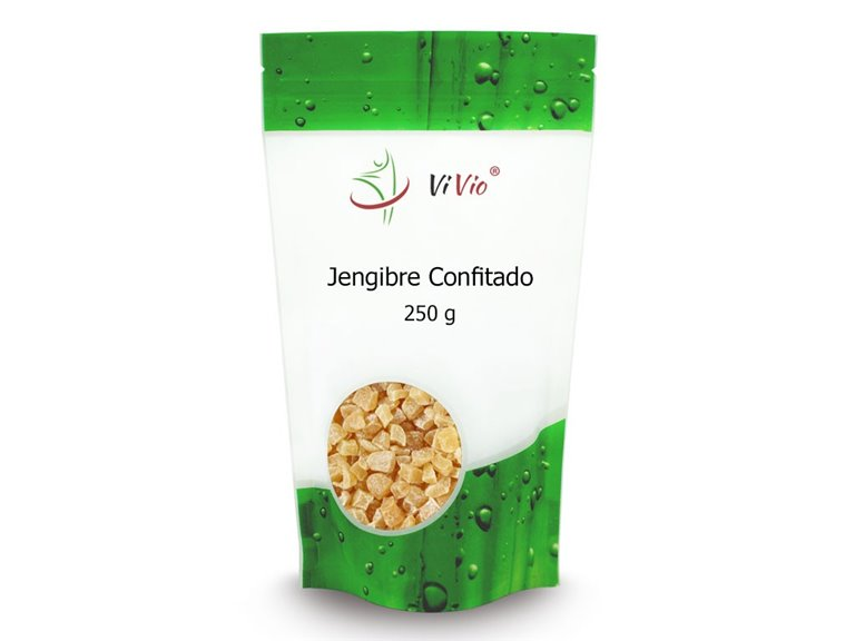 Candied ginger (cubes) 250g
