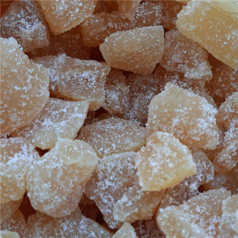 Jengibre deshidratado con azúcar, 100 gr