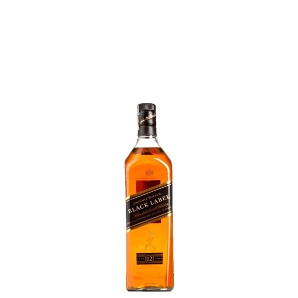 JOHNNIE WALKER BLACK CAJA NEUTRA 0,20 L.