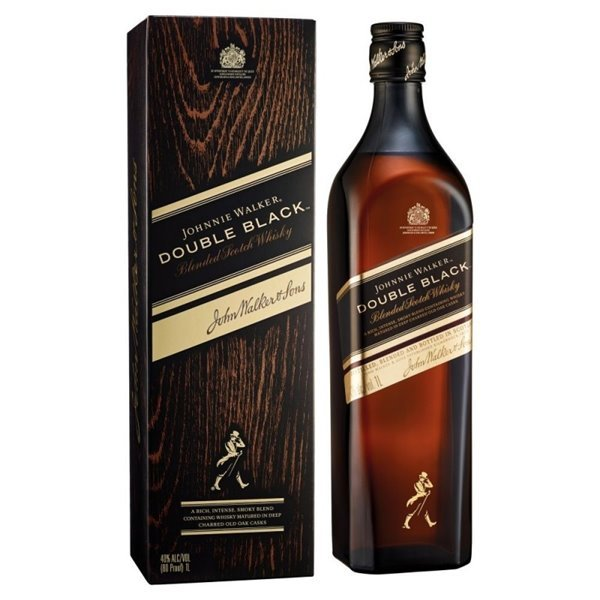 JOHNNIE WALKER DOUBLE BLACK 0,70 LITROS 40º