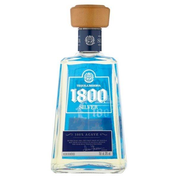 JOSE CUERVO 1800 SILVER 0,70 L. 38º