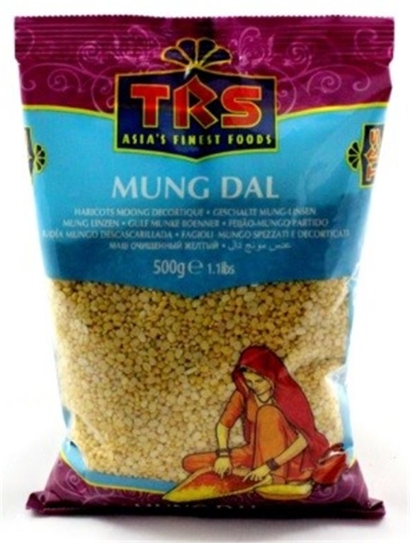Judías Mungo Descascarilladas (Mung Dal) 2kg, 1 ud
