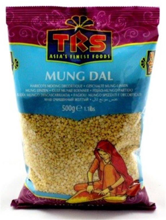 Judías Mungo Descascarilladas (Mung Dal) 500g, 1 ud