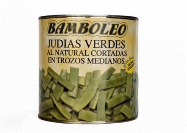 Bamboleo - Judías verdes al natural (cortadas en trozos medianos)